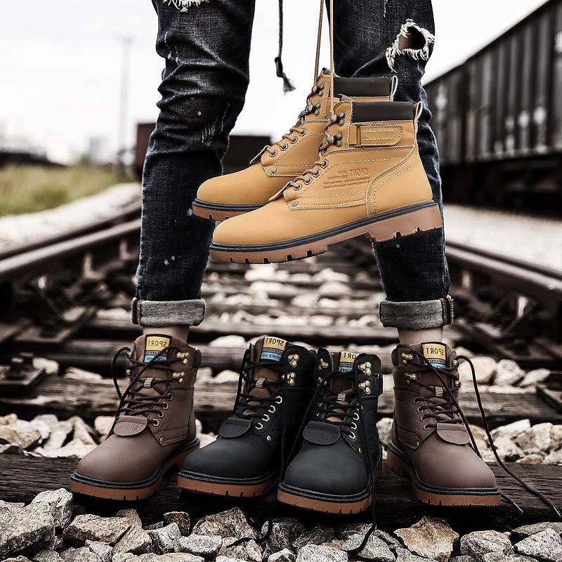 REETENE Snow <font><b>Boots</b></font> Fur <font><b>Boots</b></font> <font><b>Men</b></font> Shoes High Quality Outdoor <font><b>Work</b></font> Shoes Size 46