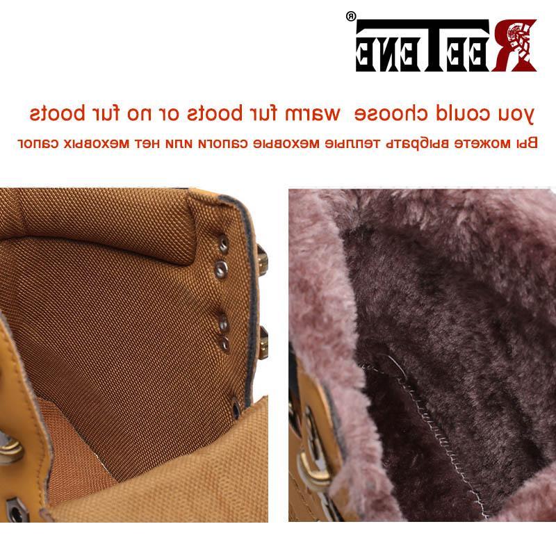 Snow Fur Ankle <font><b>Boots</b></font> Size 46
