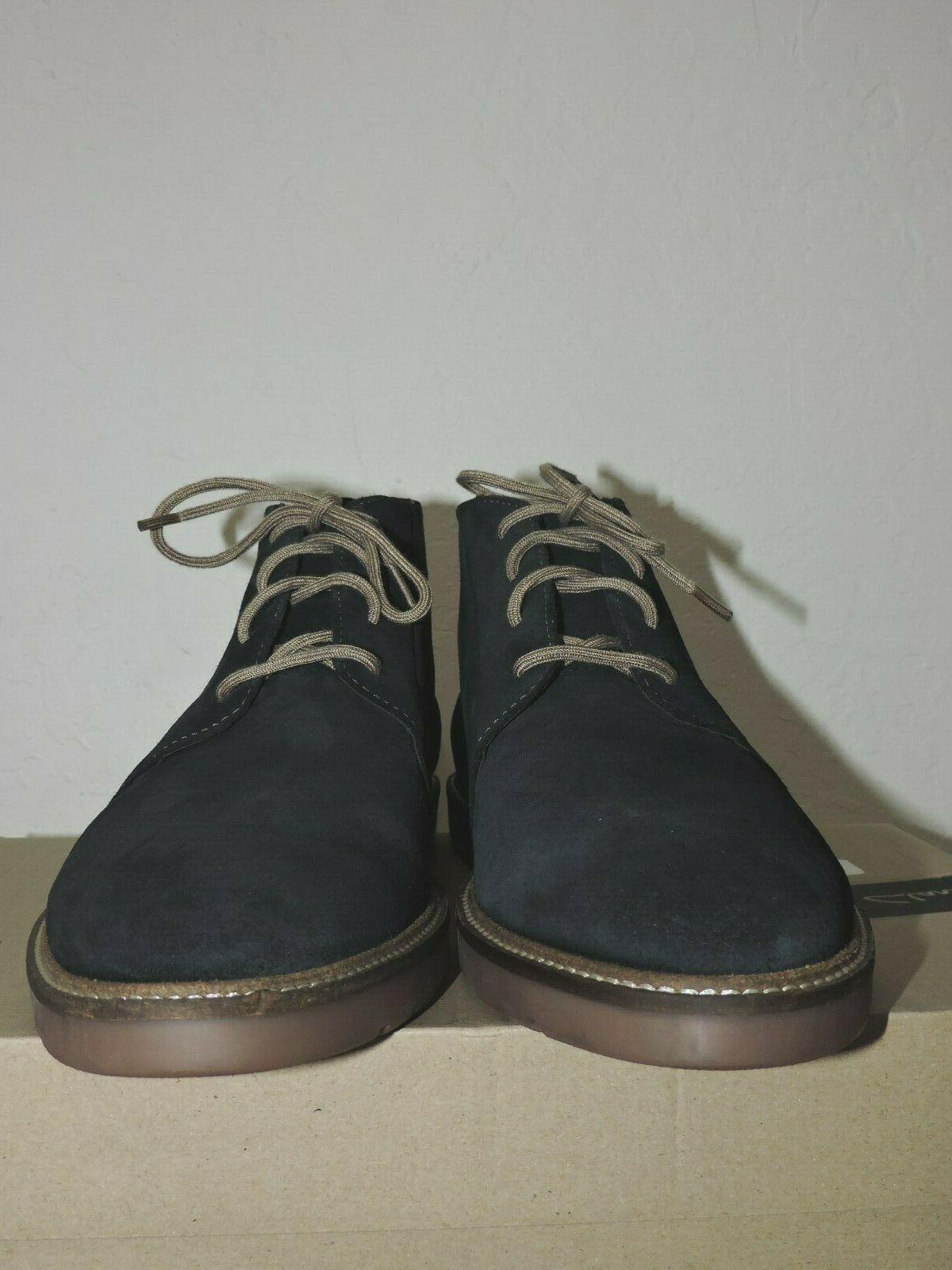 Navy Boots Size