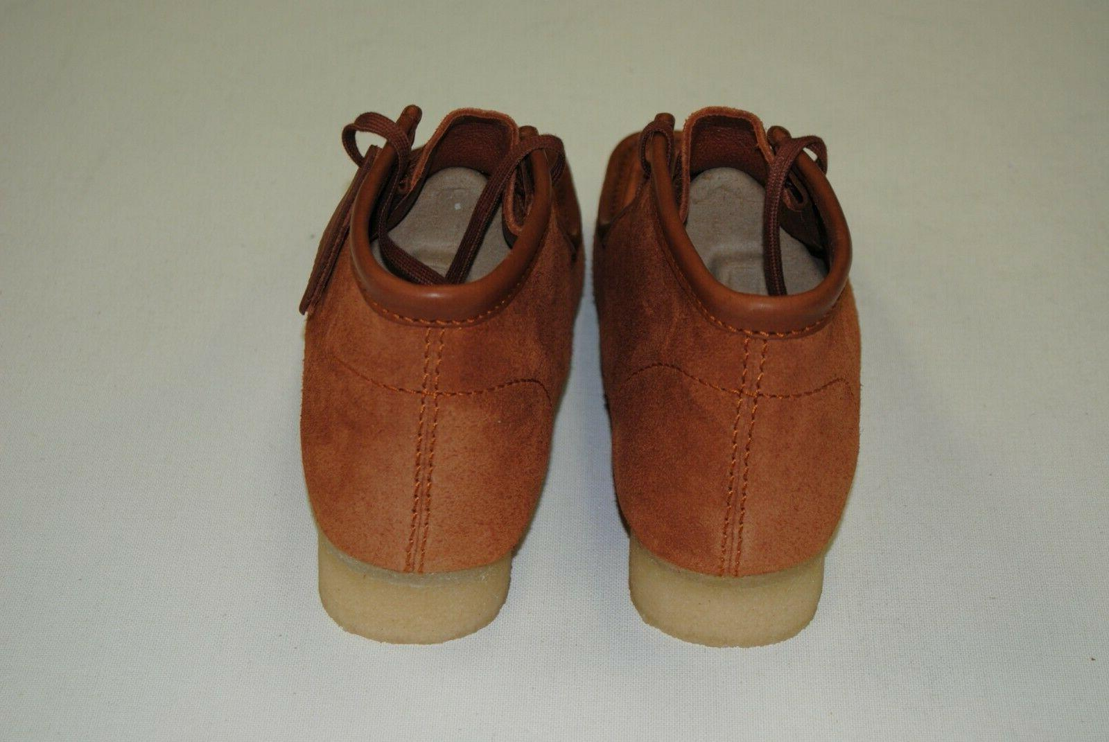 NEW WALLABEE TAN HAIRY SUEDE