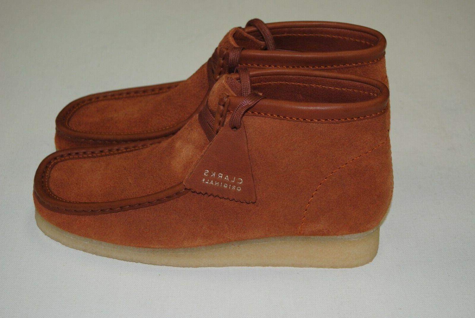 NEW MEN'S WALLABEE BOOTS SUEDE