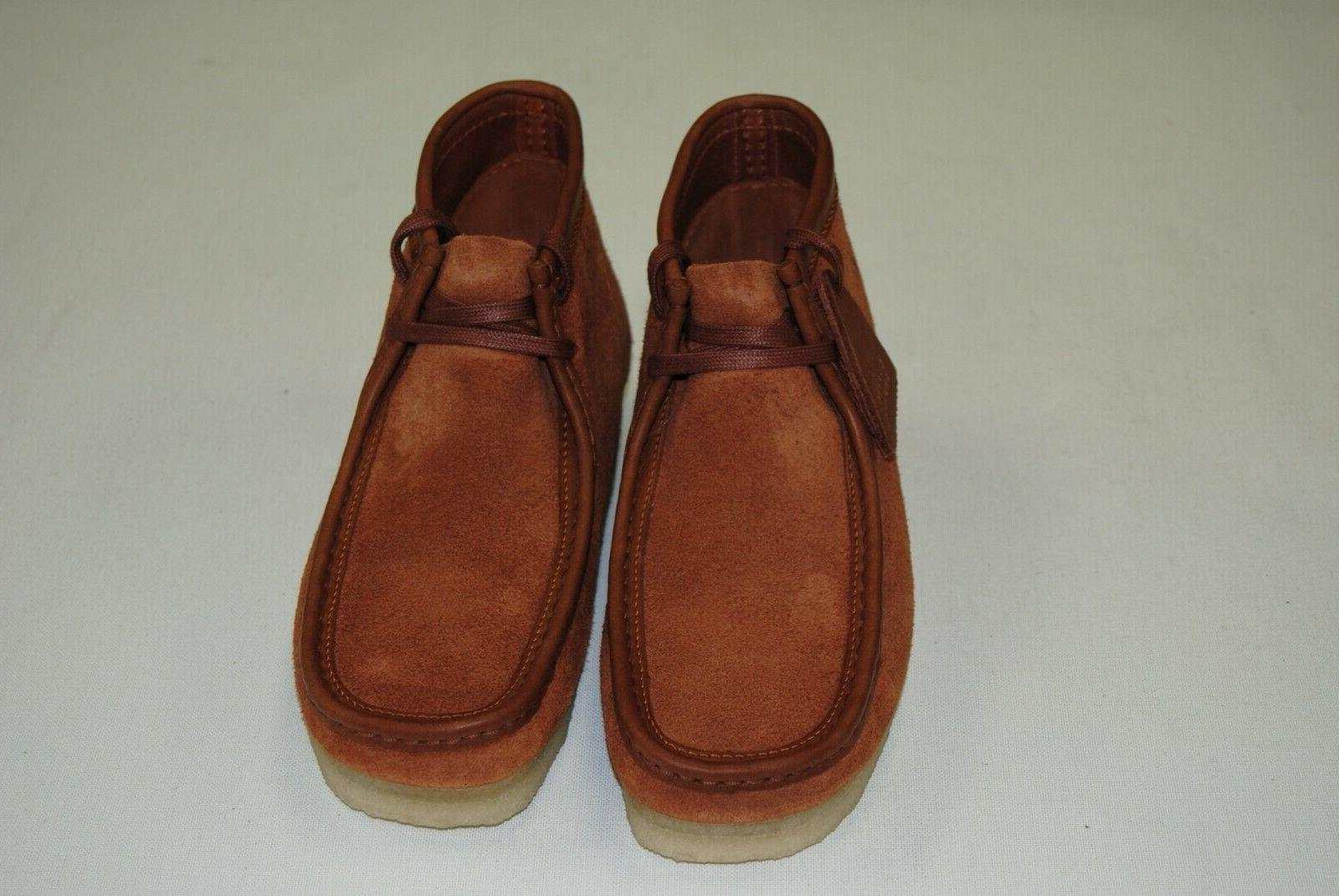 NEW MEN'S CLARKS WALLABEE HAIRY SUEDE CL22