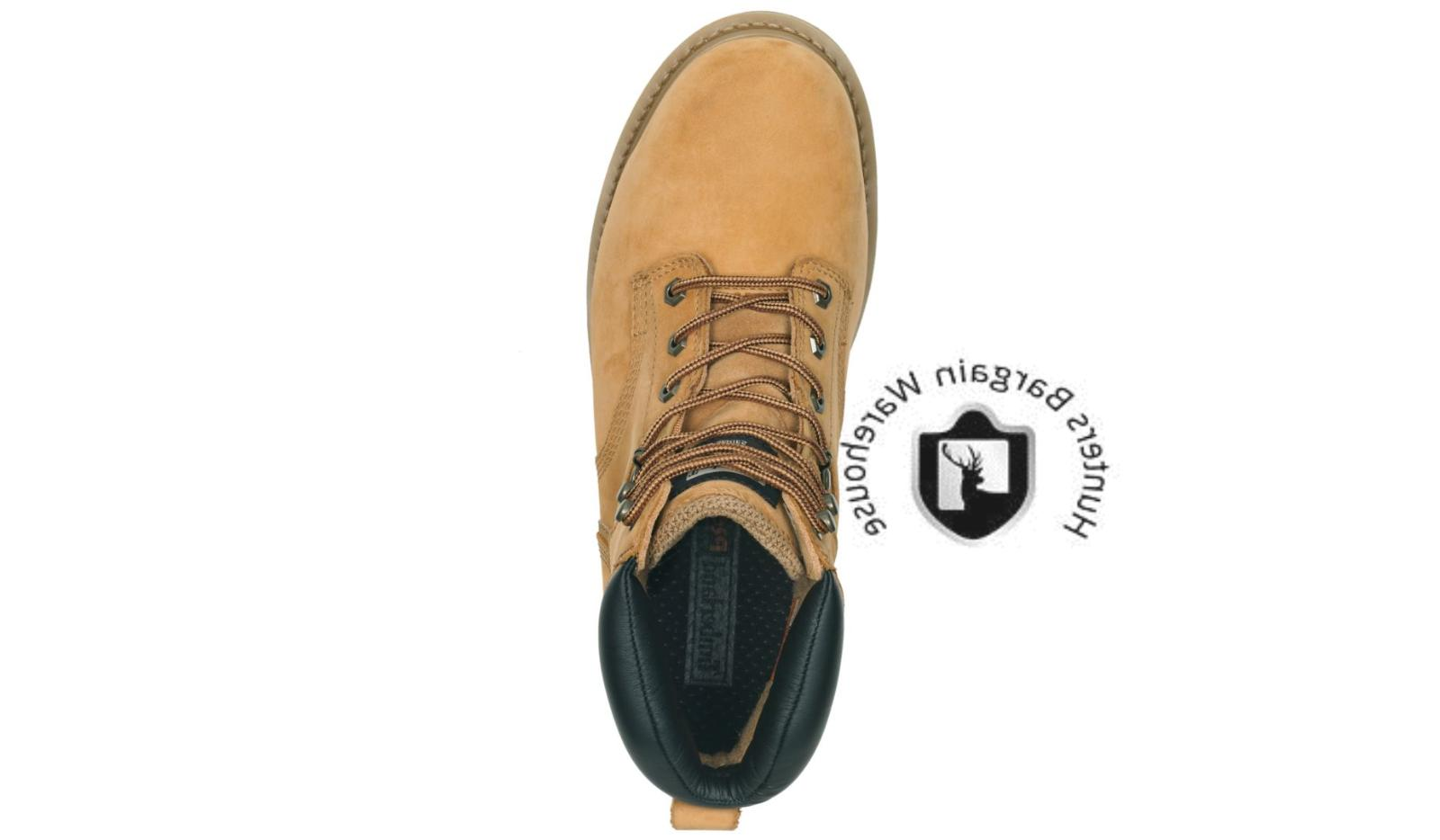 "Timberland Men's Pro Pit 6"" Toe Work Boots"