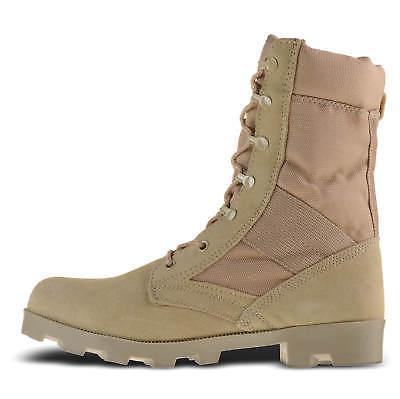 Ameritac Zip Suede Leather Combat Work