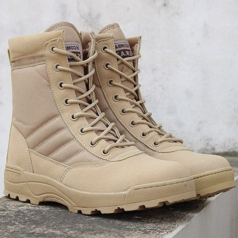 Men Desert Tactical Military <font><b>Boots</b></font> Mens