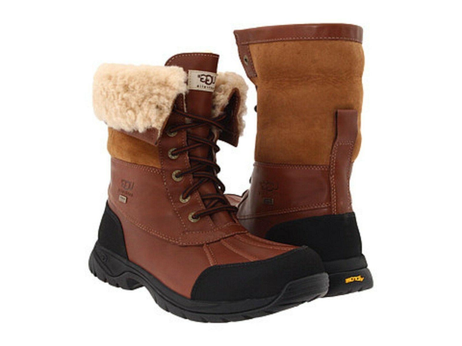 Authentic UGG Men Snow Boots Butte Waterproof Windproof eVen