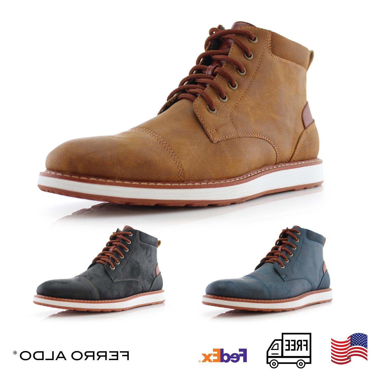 Ferro Aldo BIRT MFA506027 Men's Stylish Hi Top Boots for Cas