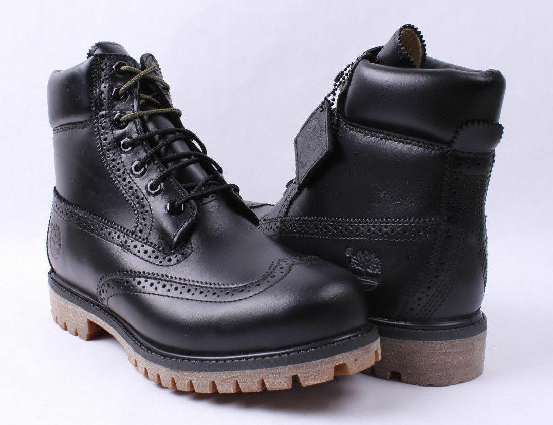 Recuerdo preparar Fahrenheit  TIMBERLAND BLACK QUARTZ MEN'S LIMITED RELEASE 6-INCH WATERPROOF BROGUE  BOOTS Timberland Men's Boots