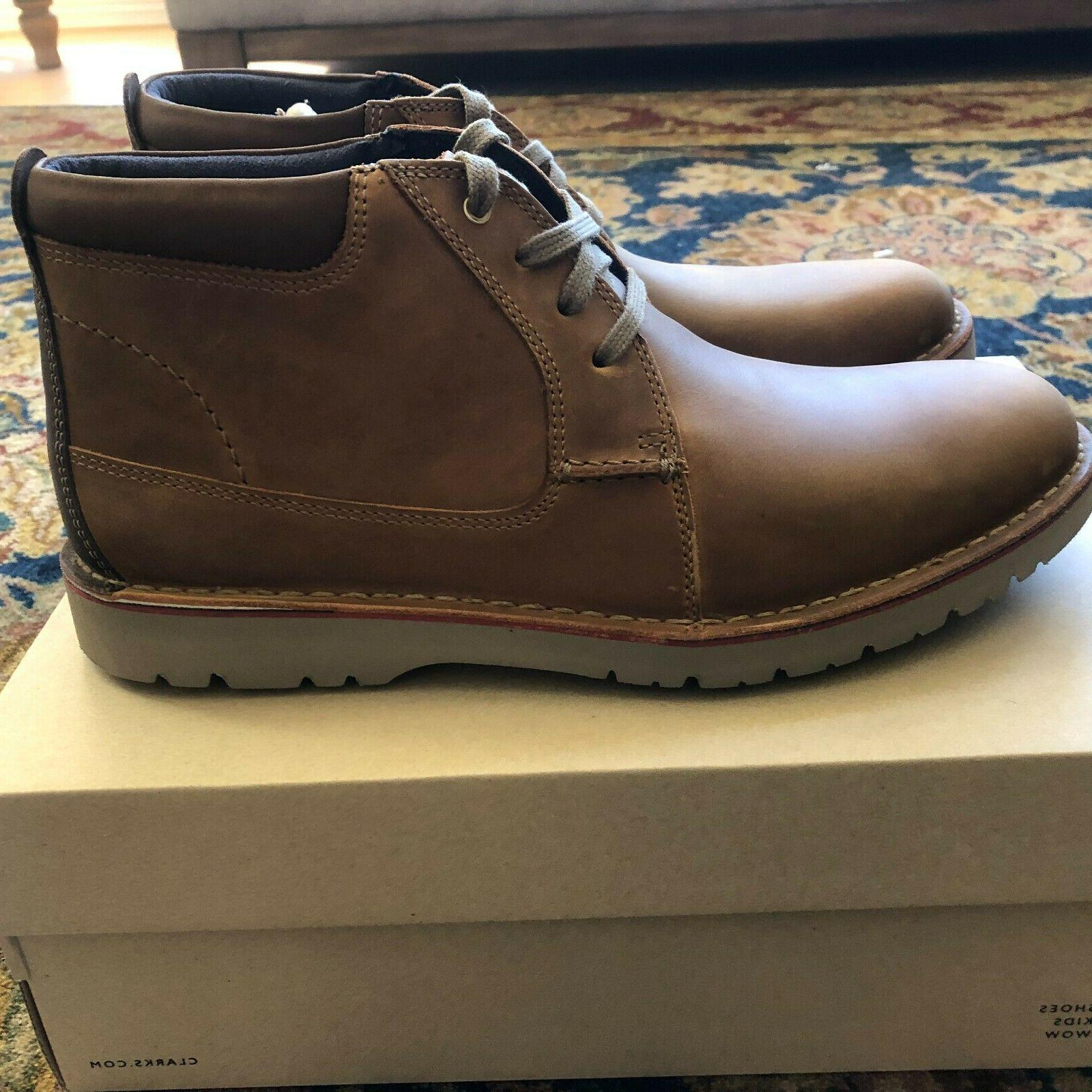 Brand New Shoes Size 11 & 11.5 Vargo Leather NIB Boots
