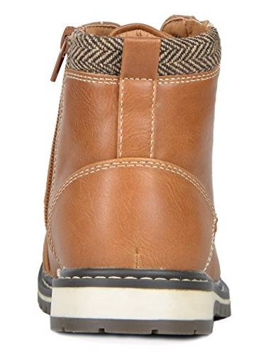 Bruno Marc Big Apache-03 Faux Winter Snow Boots Size M Big