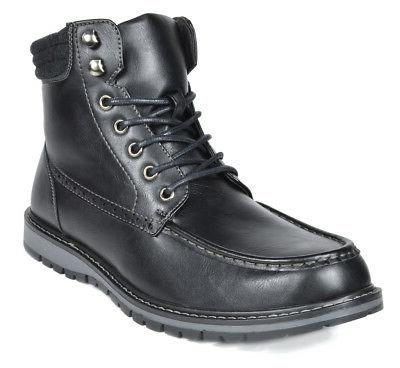 Bruno Lace Up Motorcycle Combat Boots 6.5-15 US