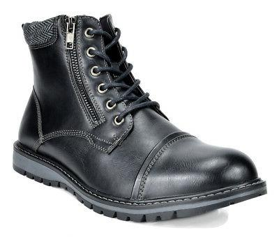 Bruno MARC Fashion Motorcycle Combat Boots