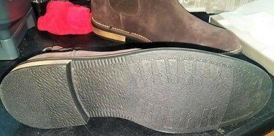 Bruno Marc Men's Urban-06 Dark Brown Suede Leather Chukka An