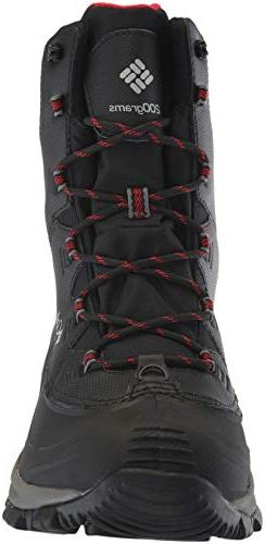 Columbia Wide Black, red, 10.5