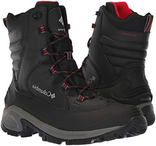 Columbia Wide Mid Black, red, Wide US