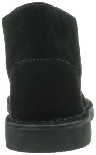 Clarks Men's Bushacre Boot,Black Suede,7