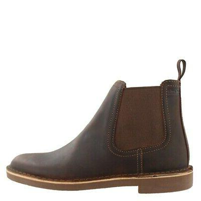 bushacre hill leather mens boots low heel