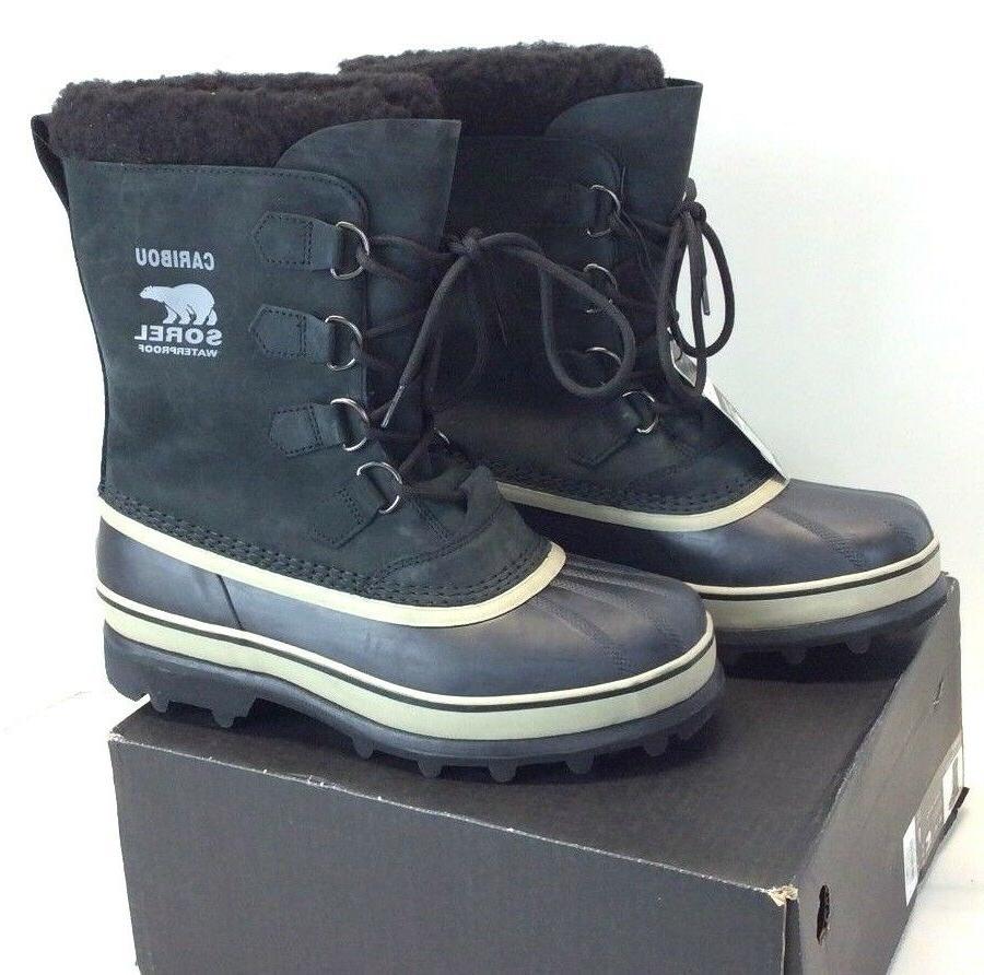 SOREL Caribou Men's Boots Black/Brown  - F