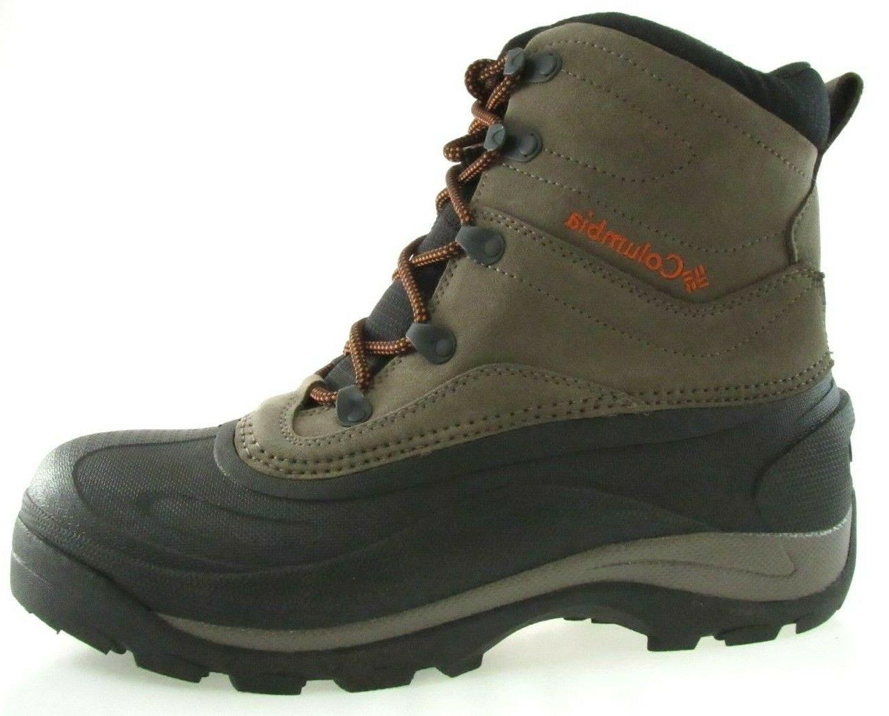 COLUMBIA CASCADIAN SUMMIT 2 MEN'S BROWN/BLACK WINTER BOOTS s