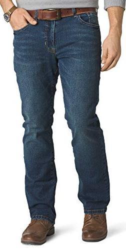 Izod Men's Comfort Stretch Relaxed Fit Jean,42x30,Indigo Bla