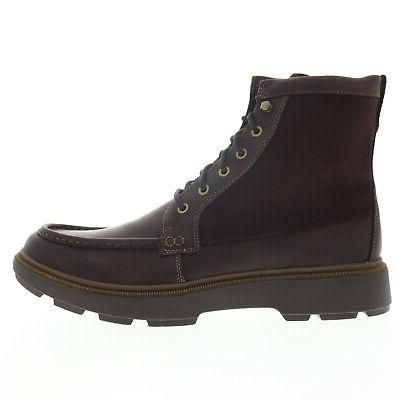 Clarks Mens Brown Up Dress Boots
