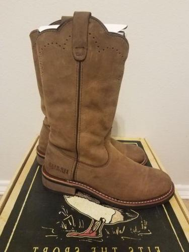 RedHead Western Boots. men's 8M