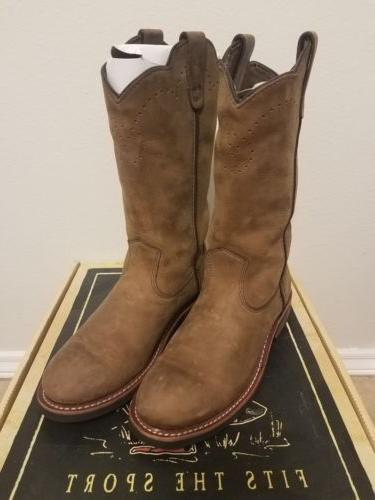 destry western work boots men s 8m