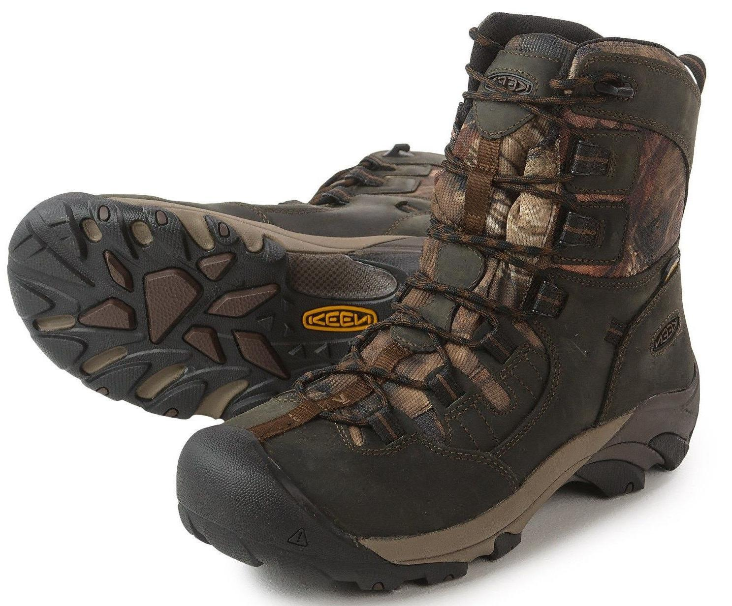 "KEEN DETROIT men's 8"" Waterproof  Work Hunting Hiking Boots"