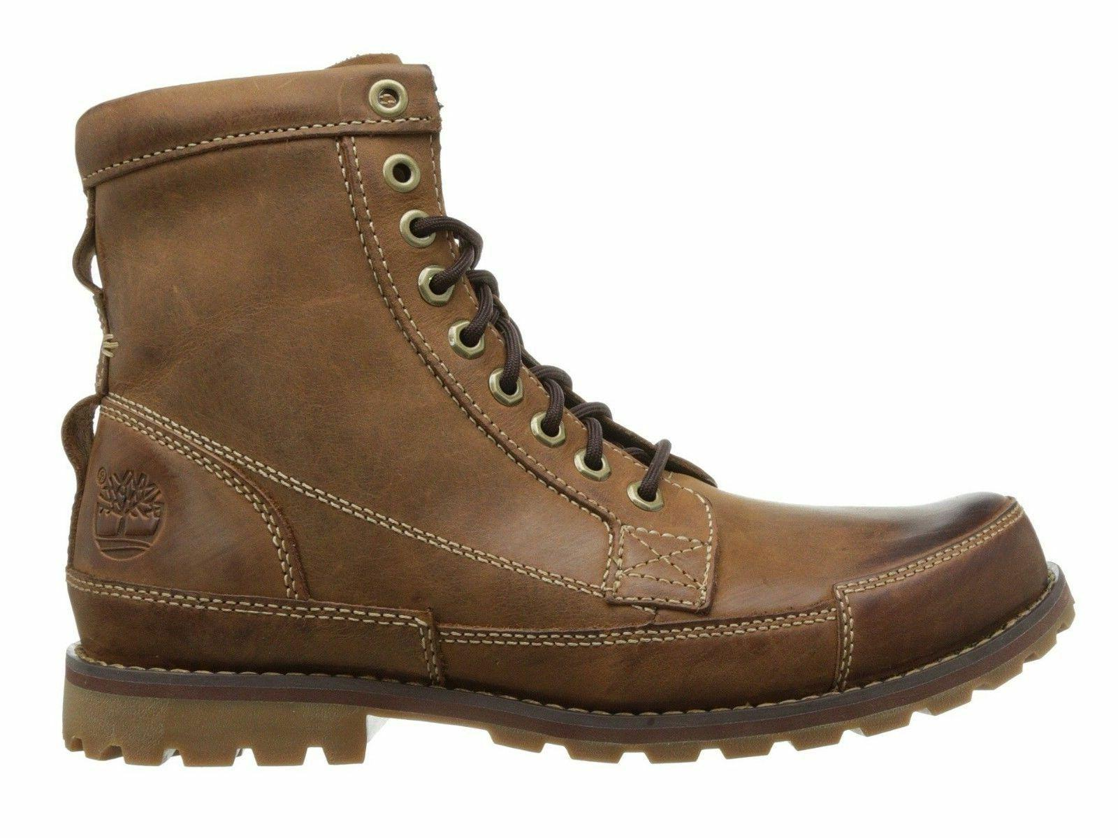 Timberland Earthkeepers 6 Inch Brown Men's Rugged Lace-up Bo