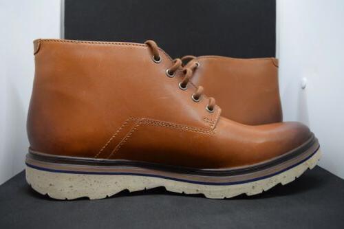 Clarks Frelan Chukka Leather Boots Men's Size Authentic