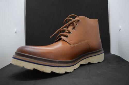 Clarks England Chukka Leather Boots Men's Size 12 Authentic