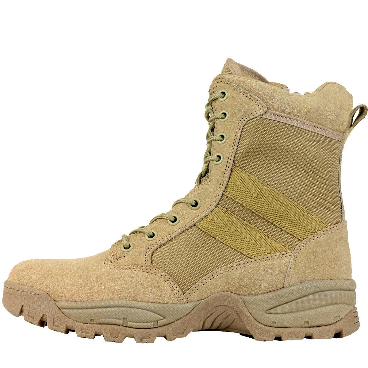 FINAL SALE Men's 8'' Desert Military Tactical Work