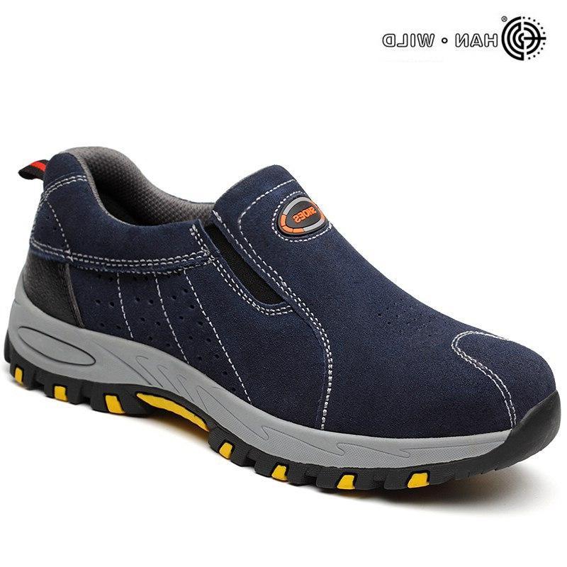 <font><b>Steel</b></font> <font><b>Toe</b></font> Safety Shoes <font><b>Men</b></font> 2019 Summer Breathable On Casual