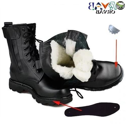 <font><b>Steel</b></font> <font><b>Toe</b></font> <font><b>Boots</b></font> Winter <font><b>Men</b></font> Combat Infantry <font><b>Boots</b></font> Bot Shoes