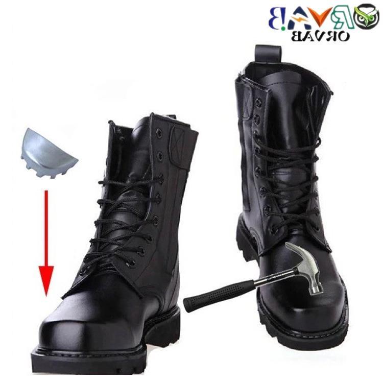 <font><b>Steel</b></font> <font><b>Toe</b></font> <font><b>Boots</b></font> <font><b>Men</b></font> Leather <font><b>Boots</b></font> Bots Work Shoes