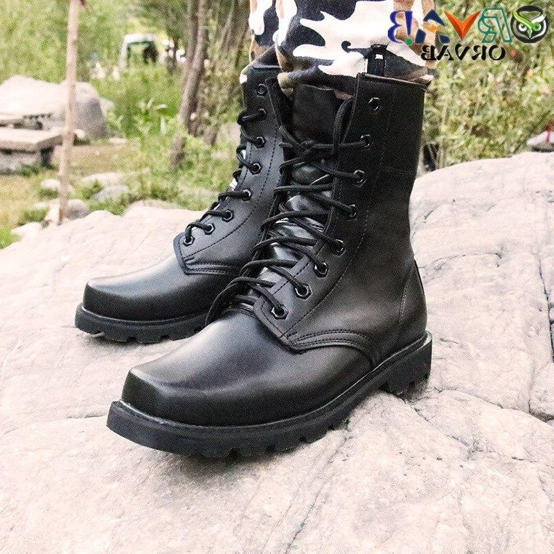 <font><b>Steel</b></font> <font><b>Toe</b></font> <font><b>Boots</b></font> Winter <font><b>Men</b></font> Military Combat Tactical Bots <font><b>Men</b></font> Safety Shoes
