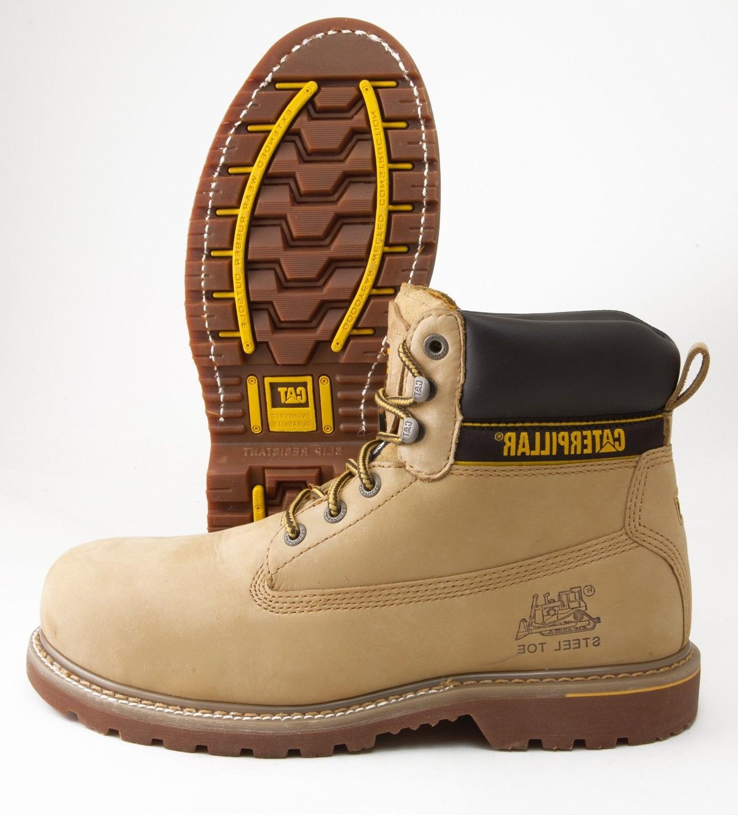 Caterpillar HOLTON ST Mens Work & Safety Steel Toe EH Nubuck