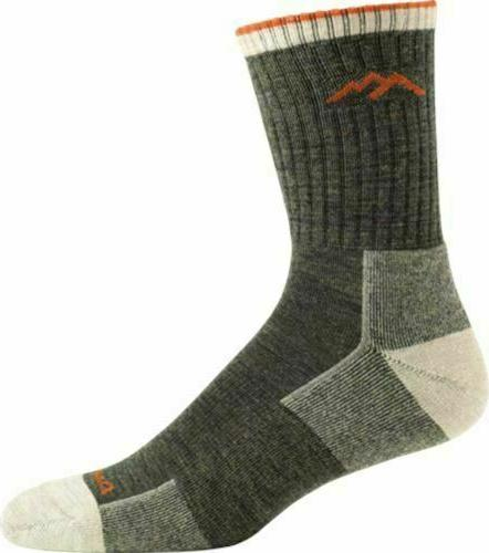 Darn Tough Men's Hunt Boot Sock Full Cushion Charcoal Large