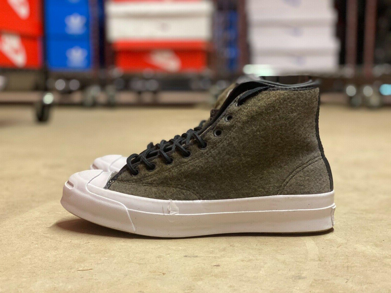 Converse Jack Purcell Woolrich Street Boots Mens Sizes 15388