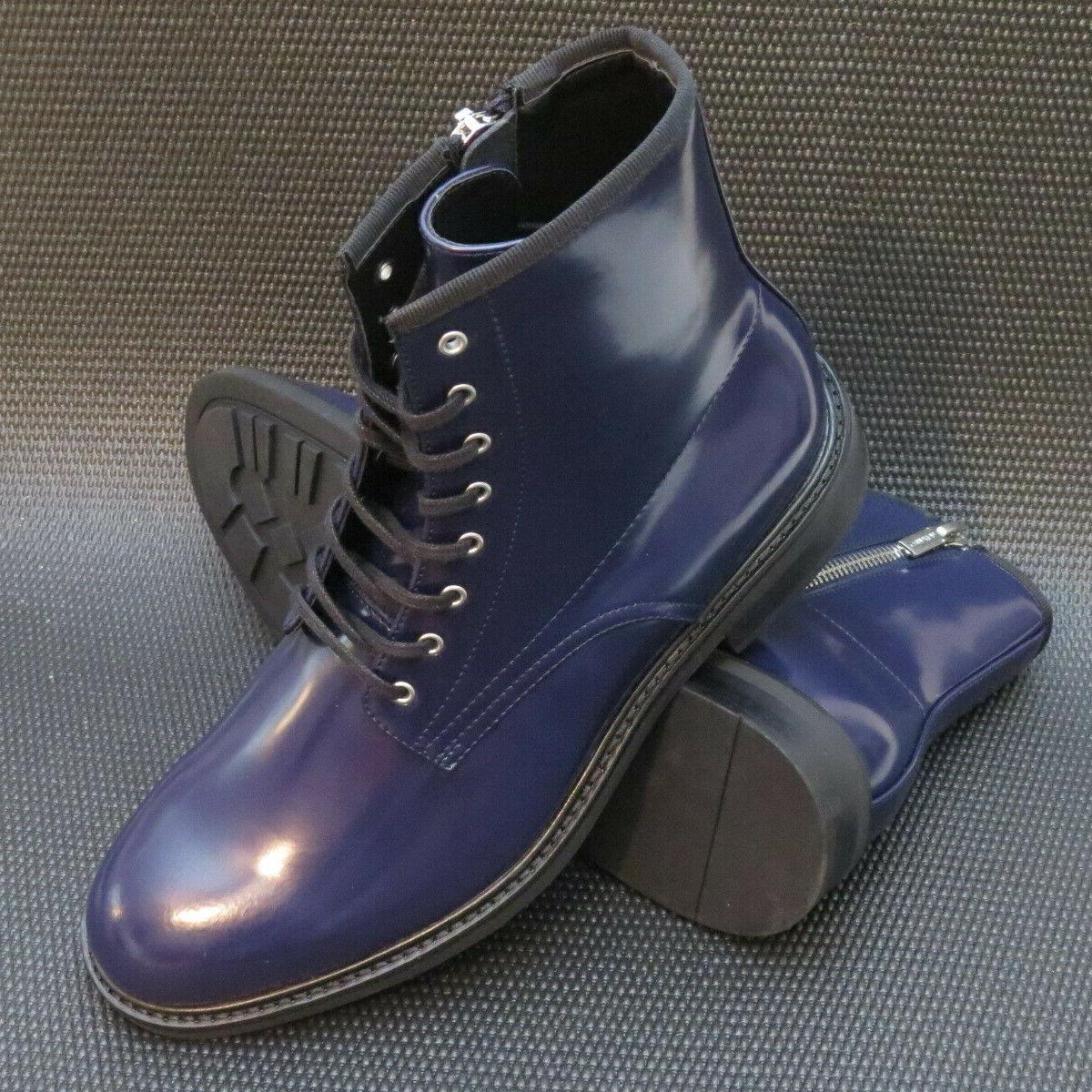 Calvin Keeler 34F0468 Men's Size Leather Combat Boots