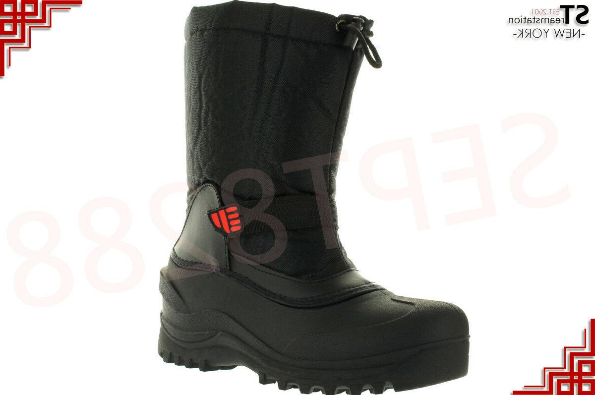Winter Snow Work Boots Men Work Shoes Insulated Waterproof T