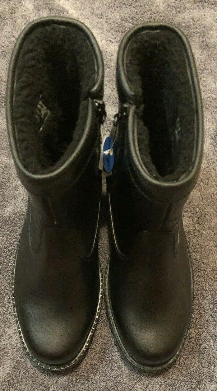 Clarks Snow Black Leather 11