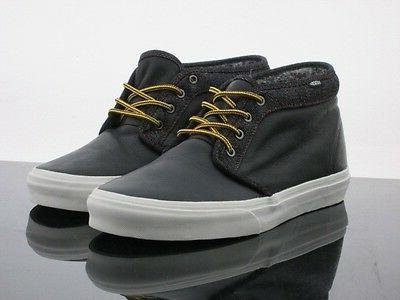 men chukka boot ca leather and denim