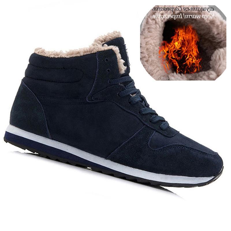 Men Men Winter Shoes Plus Size Warm Ankle Botas Hombre For Shoes Men Sneakers