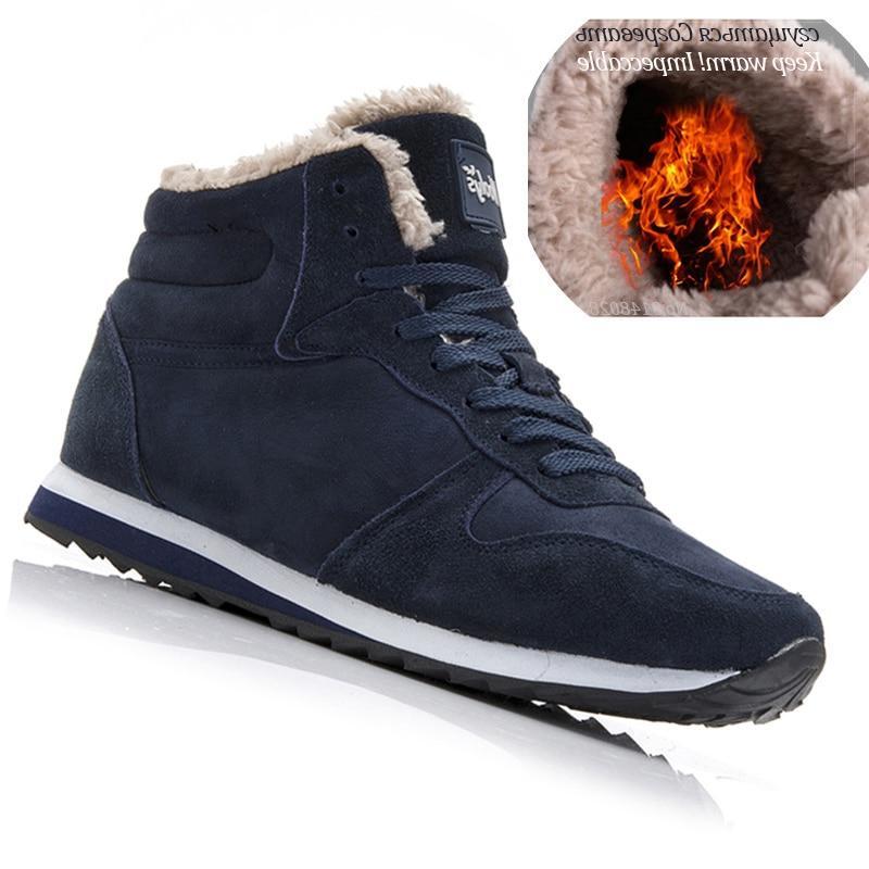 Men <font><b>Boots</b></font> Shoes Warm Ankle For <font><b>Boots</b></font> Shoes Sneakers Mens