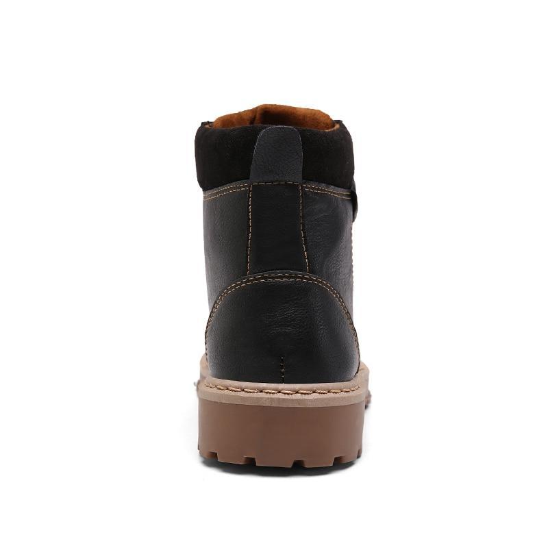 Men <font><b>Leather</b></font> Winter Shoes Motorcycle Men Men Oxfords Men <font><b>Boots</b></font> Martens