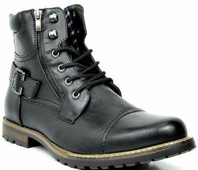 BRUNO Motorcycle Combat Leather Size 6.5-15