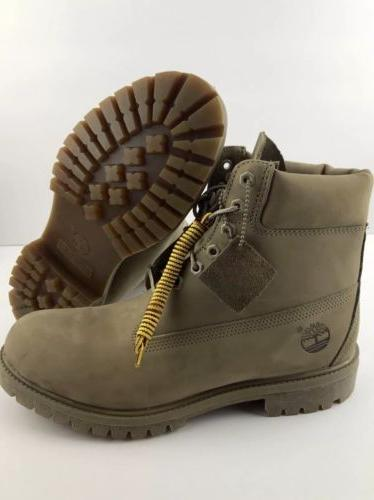 """Timberland Men's 6"""" Premium Leather Waterproof Boots TB0A177"""