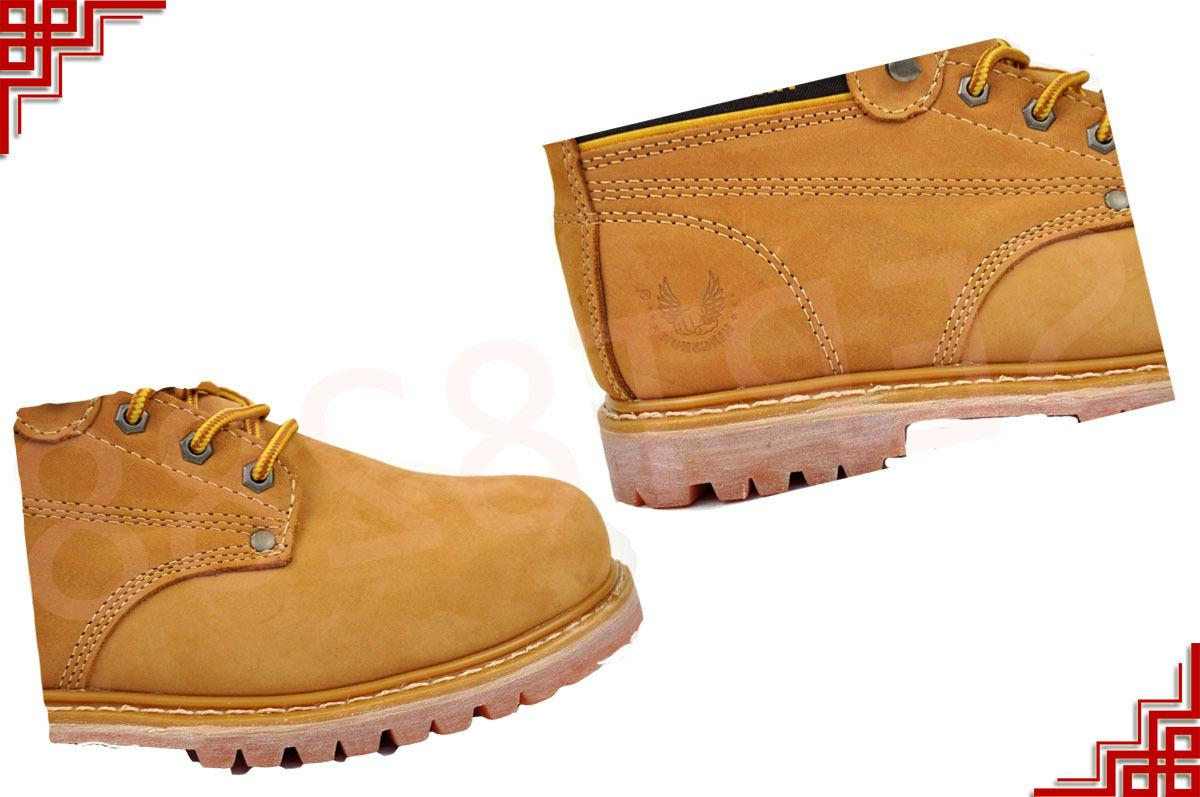 Men's Work Shoes With Toe Leather Up A6011ST