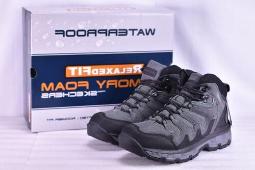 Men's Skechers 65124/GRY Morson Gleson Hiking Boots Grey